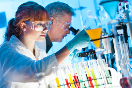 機能性化粧品の研究開発イメージ